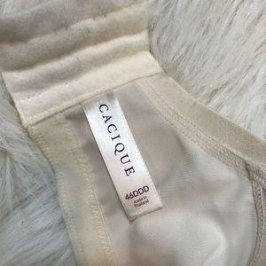 Cacique Intimates & Sleepwear - Cacique 46 DDD Smooth Boost Plunge Bra Lace